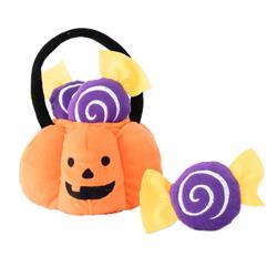 Halloween Burrow Trick or Treat Basket by Zippy Paws