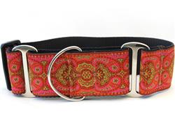 Kashmir Medina Spice Extra Wide Martingale Dog Collar