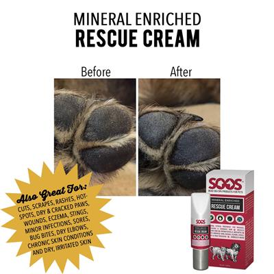 SOOS Mineral Enriched Rescue Cream (50 ml / 1.69 oz)