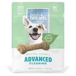 FRESH BREATH BY TROPICLEAN DENTAL STICK DOG TREAT 5-25LBS SMALL 12PC