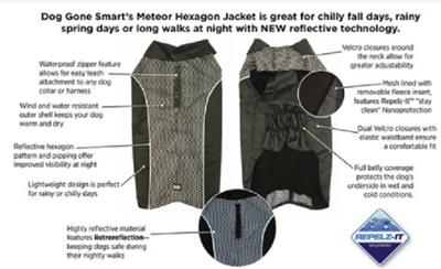 Hexagon NanoBreaker All-Season Coat, Black -DISCONTINUED