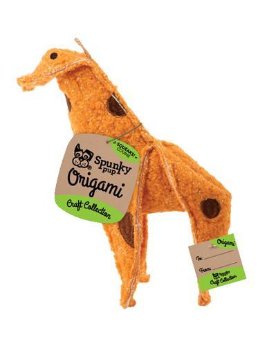 Origami Giraffe Plush Toy
