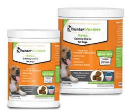 ThunderWunders Calming HEMP Soft Chews for Dogs