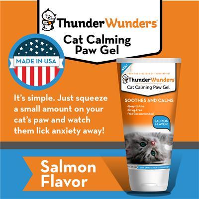 ThunderWunder Cat Calming Paw Gel - 3oz