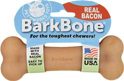Pet Qwerks Nylon BarkBone Dog Chew Toys for Aggressive Chewers, Made in USA