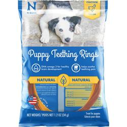 N-Bone® Puppy Teething Rings Chicken (1,3 & 6 PACKS)