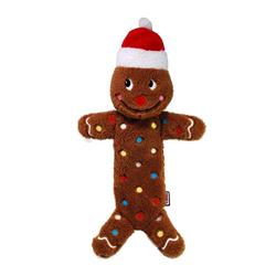 KONG HOLIDAY LOW STUFF SPECKLES GINGER BREAD MAN LARGE