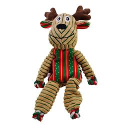 KONG HOLIDAY FLOPPY KNOTS REINDEER LARGE