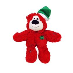 KONG Holiday Wild Knots Bear Assorted Colors