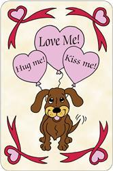 Crunch Card - Hug Me, Love Me, Kiss Me