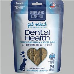 GET NAKED DOG GRAIN-FREE DENTAL HEALTH SMALL 6.6 OZ.