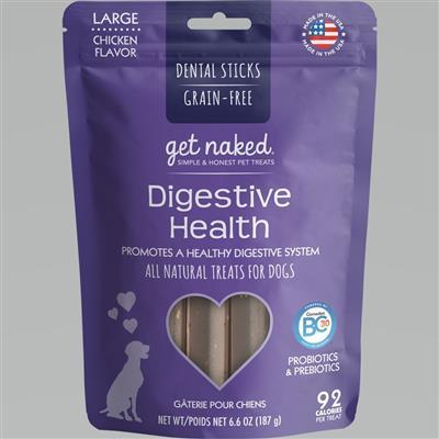 GET NAKED DOG GRAIN-FREE DIGEST HEALTH LARGE 6.6 OZ.