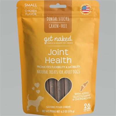 GET NAKED DOG GRAIN-FREE JOINT HEALTH SMALL 6.2 OZ.