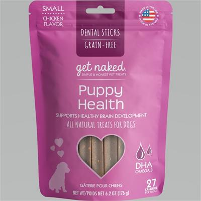 GET NAKED DOG GRAIN-FREE PUPPY HEALTH SMALL 6.2 OZ.