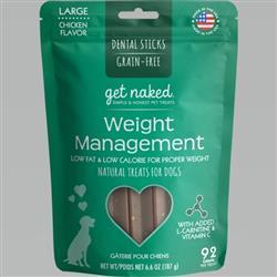 GET NAKED DOG GRAIN-FREE WEIGHT MANAGEMENT LARGE 6.6 OZ.