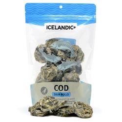 Cod Skin Rolls Bag Fish Treats by Icelandic+