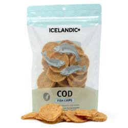 Cod Fish Chips (6 Bag Case) Fish Treats by Icelandic+