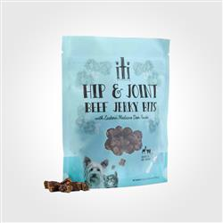 iti Hip & Joint Beef Jerky Bits, Healthy Air Dried Treats, 3.5oz
