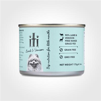 iti Lamb & Venison Canned Dog Food, 6oz