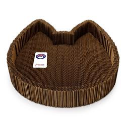 2-in-1 Cat Scratching Pad & Lounge Bed