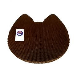 Cat Scratching Pad: Cat Head Shape