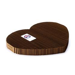 Cat Scratching Pad: Heart Shape