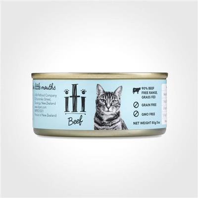 iti Beef Canned Cat Food, 3oz