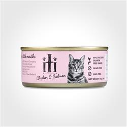 iti Chicken & Salmon Canned Cat Food, 3oz
