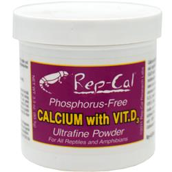 Rep-Cal Calcium with Vitamin D3 (3.3 oz) Ultrafine Powder