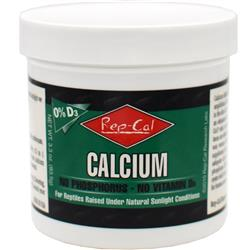 Rep-Cal 0% D-3 Calcium No Phosphorus - No Vitamin D3 (3.3oz)