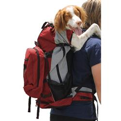 K9 Sport Sack ROVER--RED