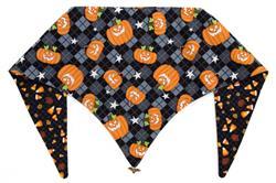 Glow in the Dark Pumpkin Party Halloween ArfScarf