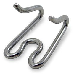STAINLESS STEEL J&J MINI PINCH COLLAR - extra link