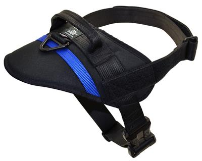 KINETIC NYLON HARNESS (Black or Gray)
