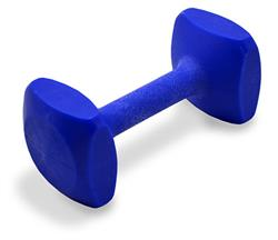 Plastic Dumbbells- Blue