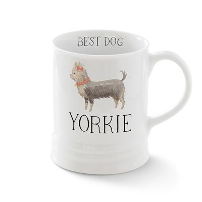 YORKIE MUG WITH ARTWORK BY JULIANNA SWANEY