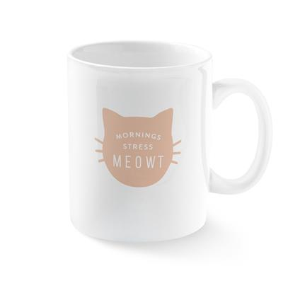 MORNINGS STRESS MEOWT MUG