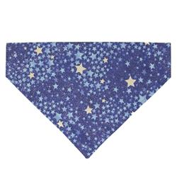 Sparkle Stars - Dog Bandana - Over the Collar Style in 5 Sizes |  BUY 10 GET 1 FREE