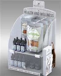 Locking Acrylic Counter Top Display for Holistic Hound Products