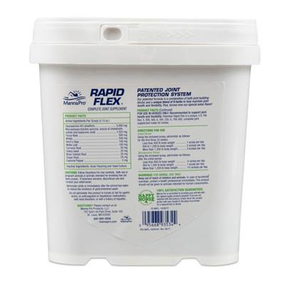 Manna Pro Rapid Flex - Complete Joint Supplement for Horses, 4 lb