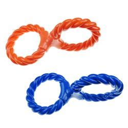 Infinity TPR/Rope Double Ring Twist