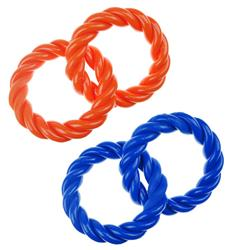 Infinity TPR 2 Ring Dog Toy