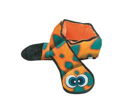 Orange Invincible Snake Dog Toy