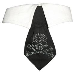 Crossbone Crystal Collar