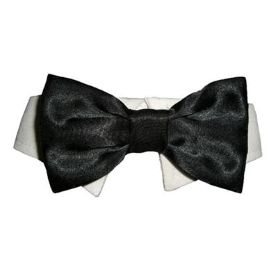 Bow Tie Collar - Black