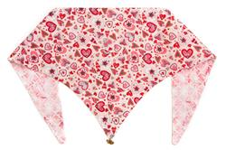 Pink Doodle Hearts ArfScarf