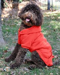 Flex-Fit Dog Hoodie - Red