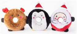 ZippyPaws Holiday Donutz Buddies