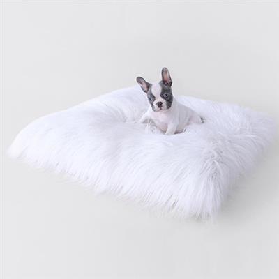 Himalayan Yak Dog Mat: White