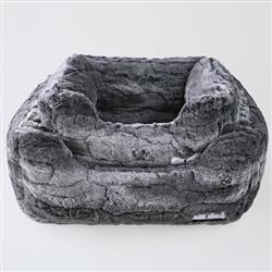 Deluxe Dog Bed: Granite
